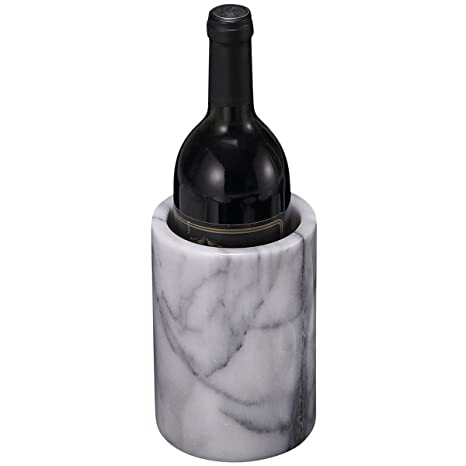 34acd3b88fbf Amazon.com  Creative Home Natural White Marble Wine Cooler
