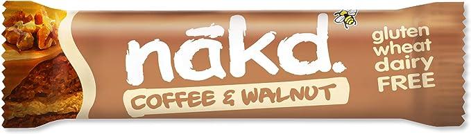 Nakd Gf Coffee & Walnut Bar 35Gm#35Nkdcw