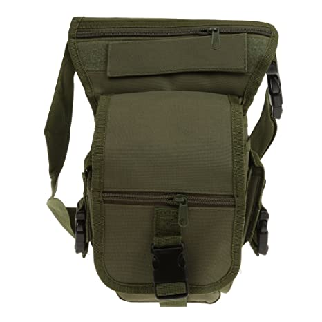 c7eed3e63f91 Image Unavailable. Image not available for. Colour  Generic Multi function Outdoor  Sports Leg Bag Utility Thigh Fanny Pack Hiking ...