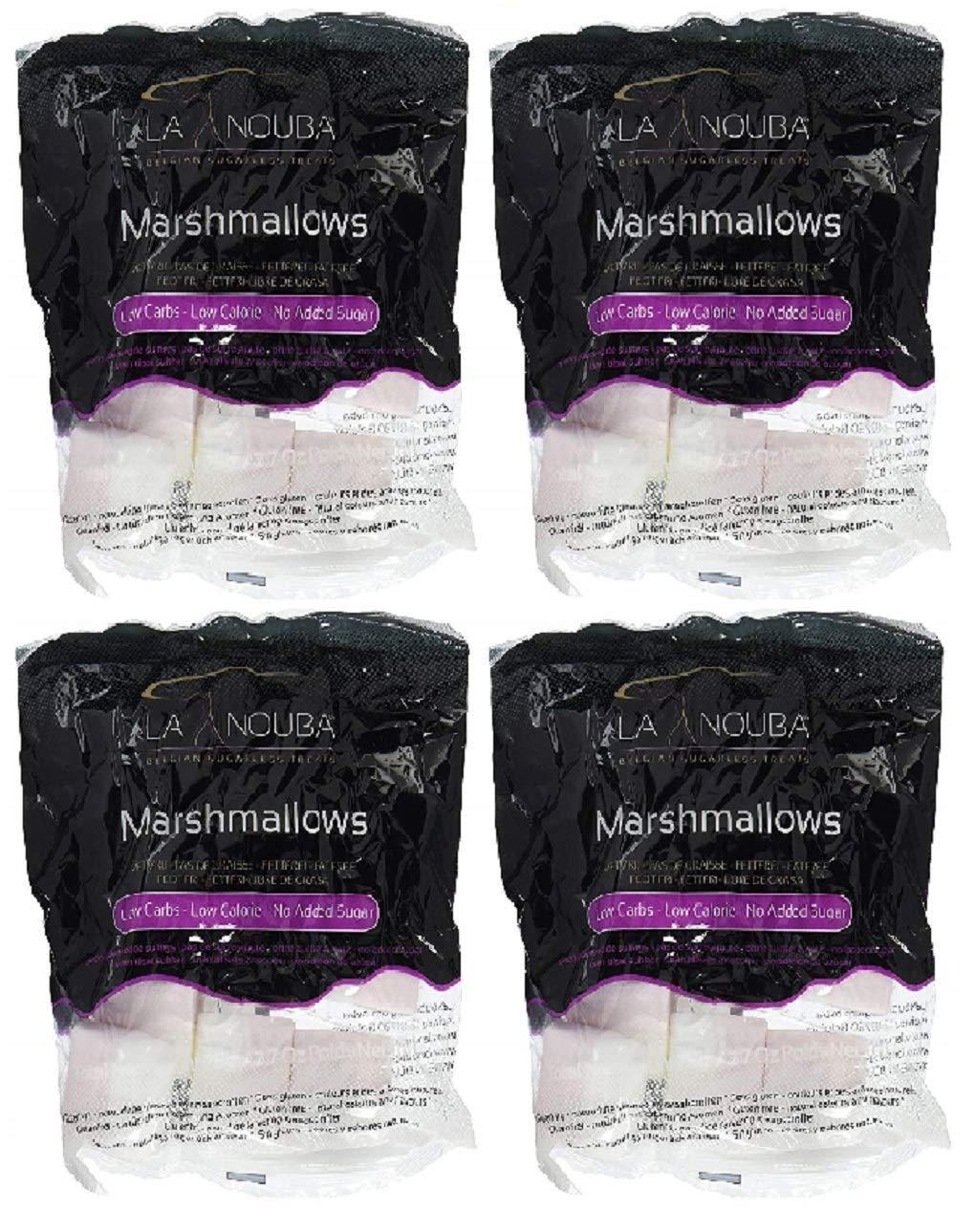 4 Pack Value: La Nouba, Sugar Free Marshmallow, Fat Free Gluten Free, 10.8 oz.total (4 Pack)