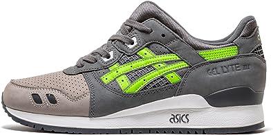 ASICS Gel-Lyte 3 - Size 7 Grey/Green