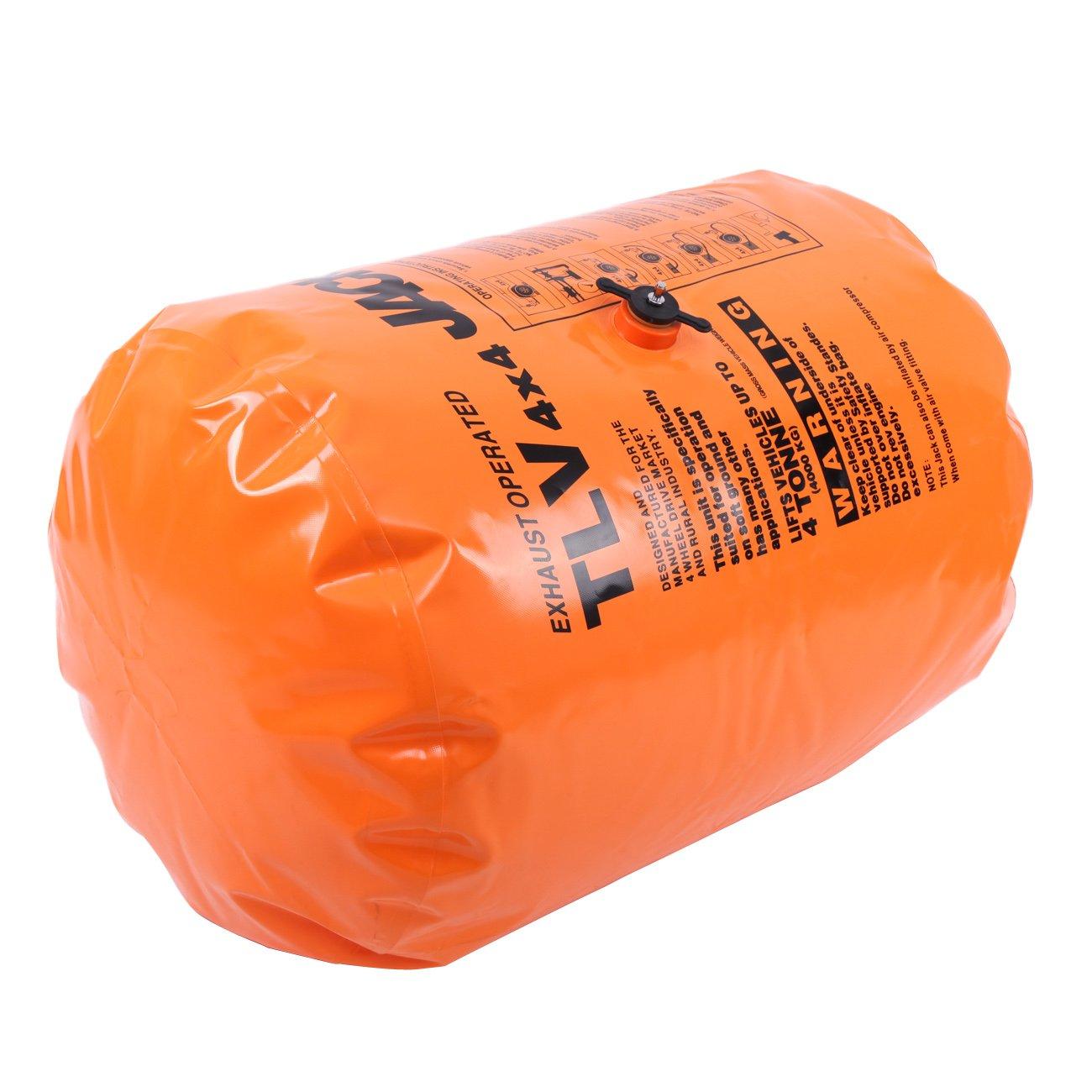 Amazon.com: Honhill Orange 4T - Toma de aire de escape y ...