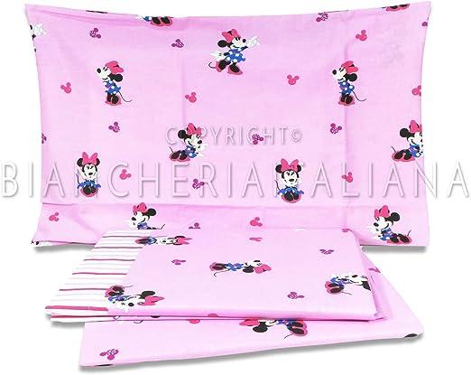 Caleffi.- Juego de sábanas para cuna en medida 60x120 cm Disney ...