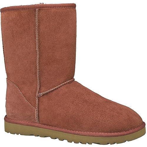 UGG botines botas mujer en daim classic short bordeaux EU 38 5825 W TRC