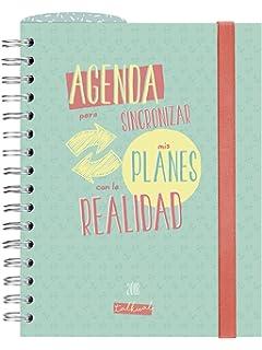 Finocam Talkual - Agenda 2018, semana vista apaisada, español, 155 x 215 mm