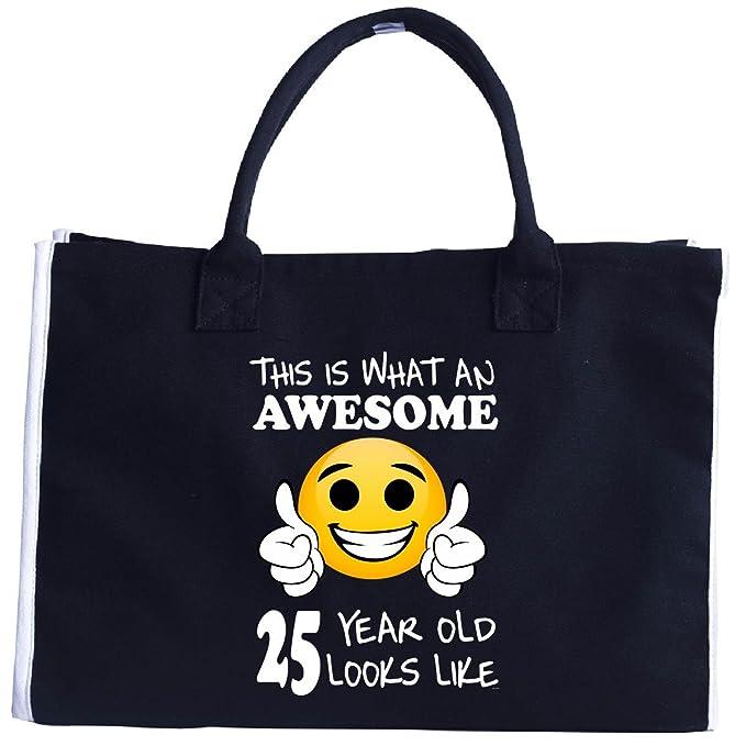 Emoji Birthday 25th Presents Men 25 Year Old Gift