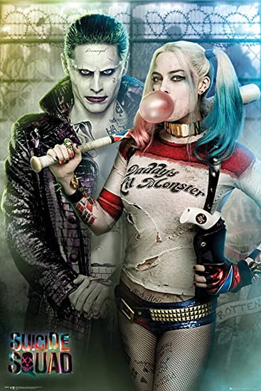 Suicide Squad Poster Joker And Harley Quinn ü Poster Amazon