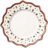 Villeroy & Boch Toy's Delight 1485852622 Plato llano, Porcelana, Blanco