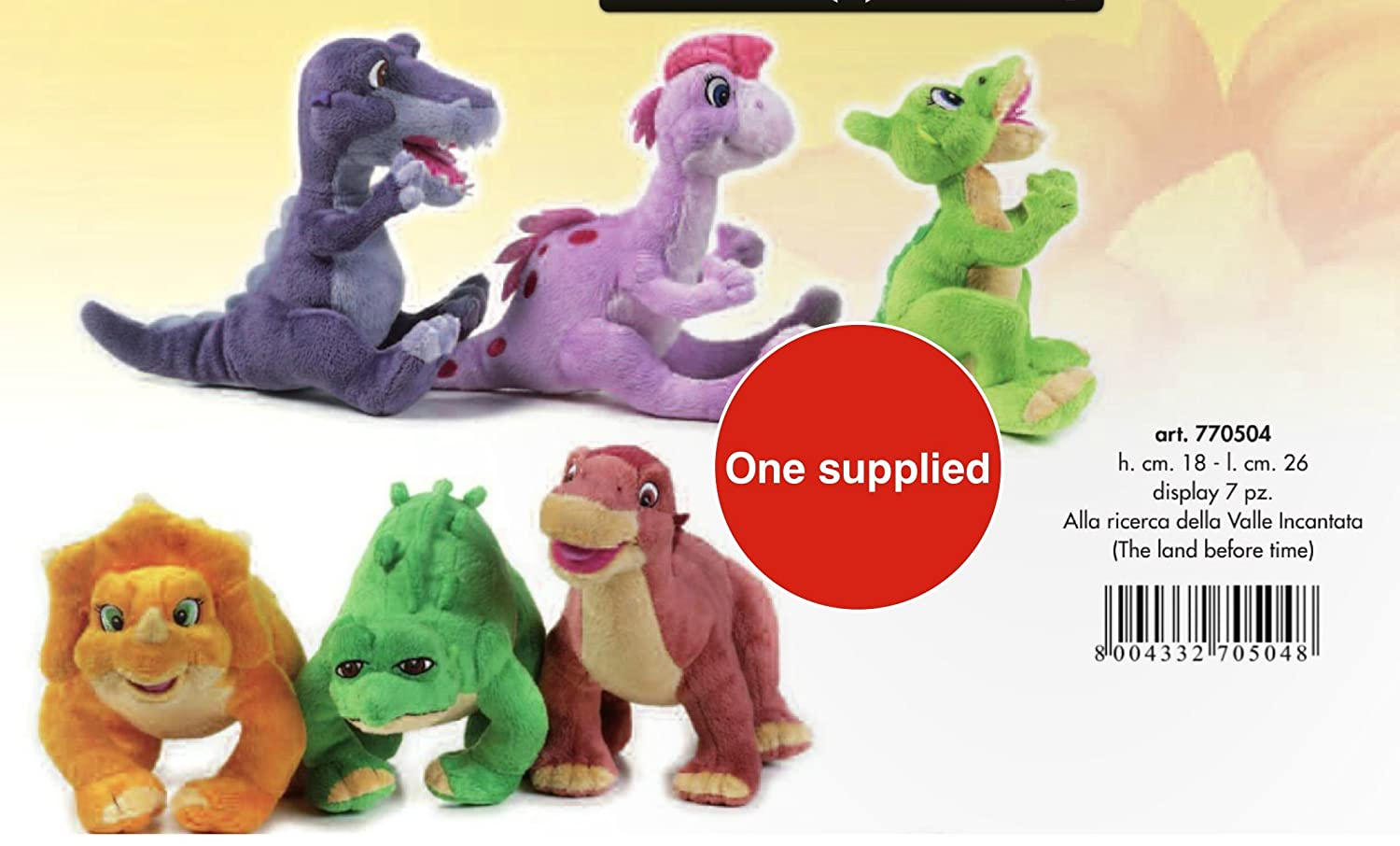 lelly the land before time stuffed toy assortment amazon co uk