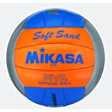 MIKASA Beachvolleyball Soft Sand, mehrfarbig, 5