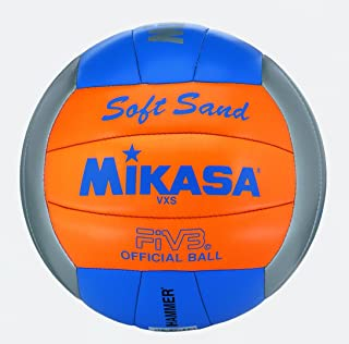 Mikasa Beach-Volleyball Doux Sable Vxs-2 Gris/Orange/Bleu