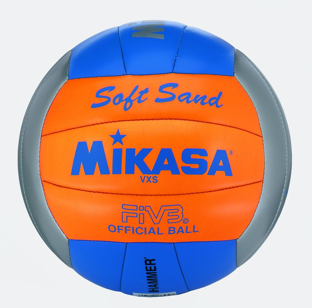 MIKASA de Beach Volley Soft Sable VXS 2 Gris/Orange/Bleu E37IP|#Pro Touch 1627
