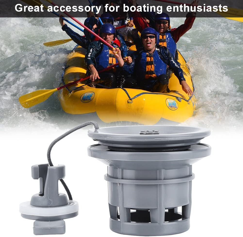 Brand New Dual Inflatable Boat Seal Air Valve River Raft Dinghy Kayak Accessory