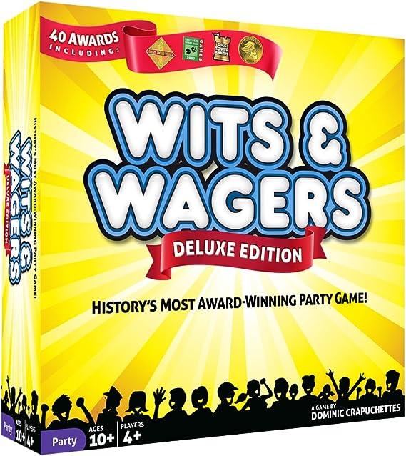 North Star Games Wits & Wager Deluxe - Juego de Mesa: Amazon.es: Juguetes y juegos