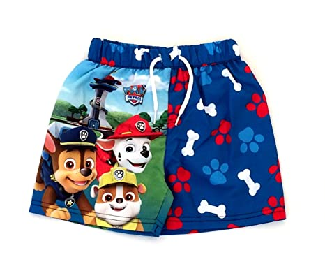 64eb659d45 Paw Patrol Boys Swimming Shorts Trunks 18-24 Months to 4-5 Years: Amazon.co. uk: Clothing