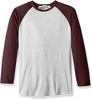 311b8c47 DealStock Shaka Active Casual Camo Raglan Tee 3/4 Sleeve Tee Shirt ...