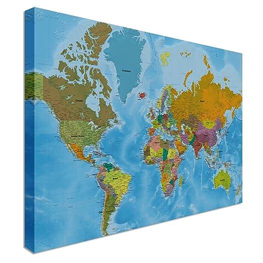 World map highest detail online hi res quality canvas wall world map highest detail online hi res quality canvas wall art pictures 48 gumiabroncs Choice Image
