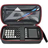 HESPLUS Compatible Graphing Calculator Texas Instruments TI-84/83/Plus CE Hard EVA Shockproof Carrying Case Storage Travel Case Bag Protective Pouch Box