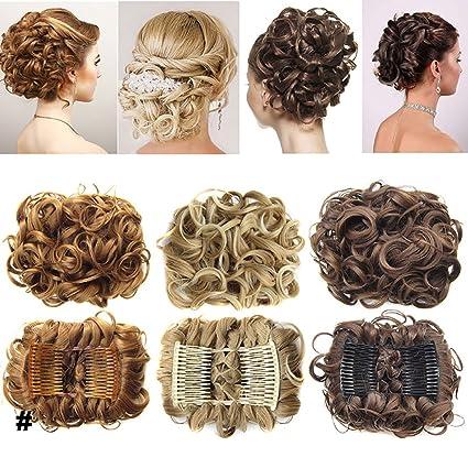 Extensions a clip cheveux naturel postiche