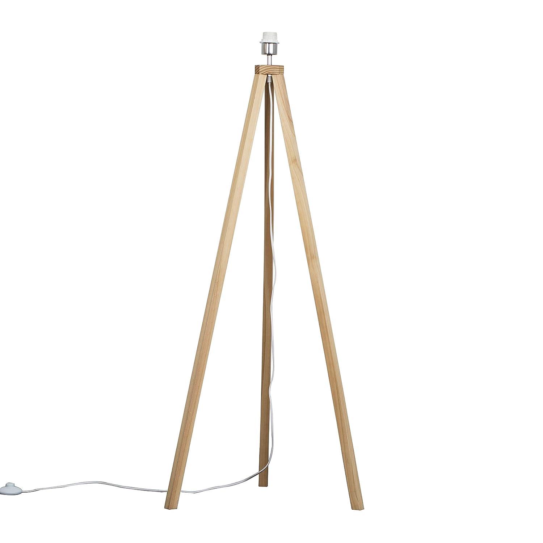 Modern Light Wood Tripod Design Floor Lamp Base MiniSun