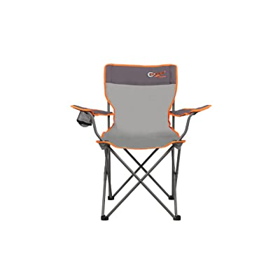 Pliable Chaise Unisexe Oscar Portail CampingGris De Extérieur 8nwm0N
