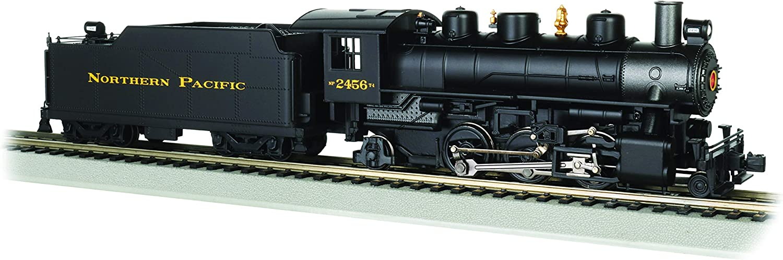 Northern Pacific #2456 Bachmann Trains HO Scale Prairie 2-6-2 w//Smoke /& Vanderbilt Tender