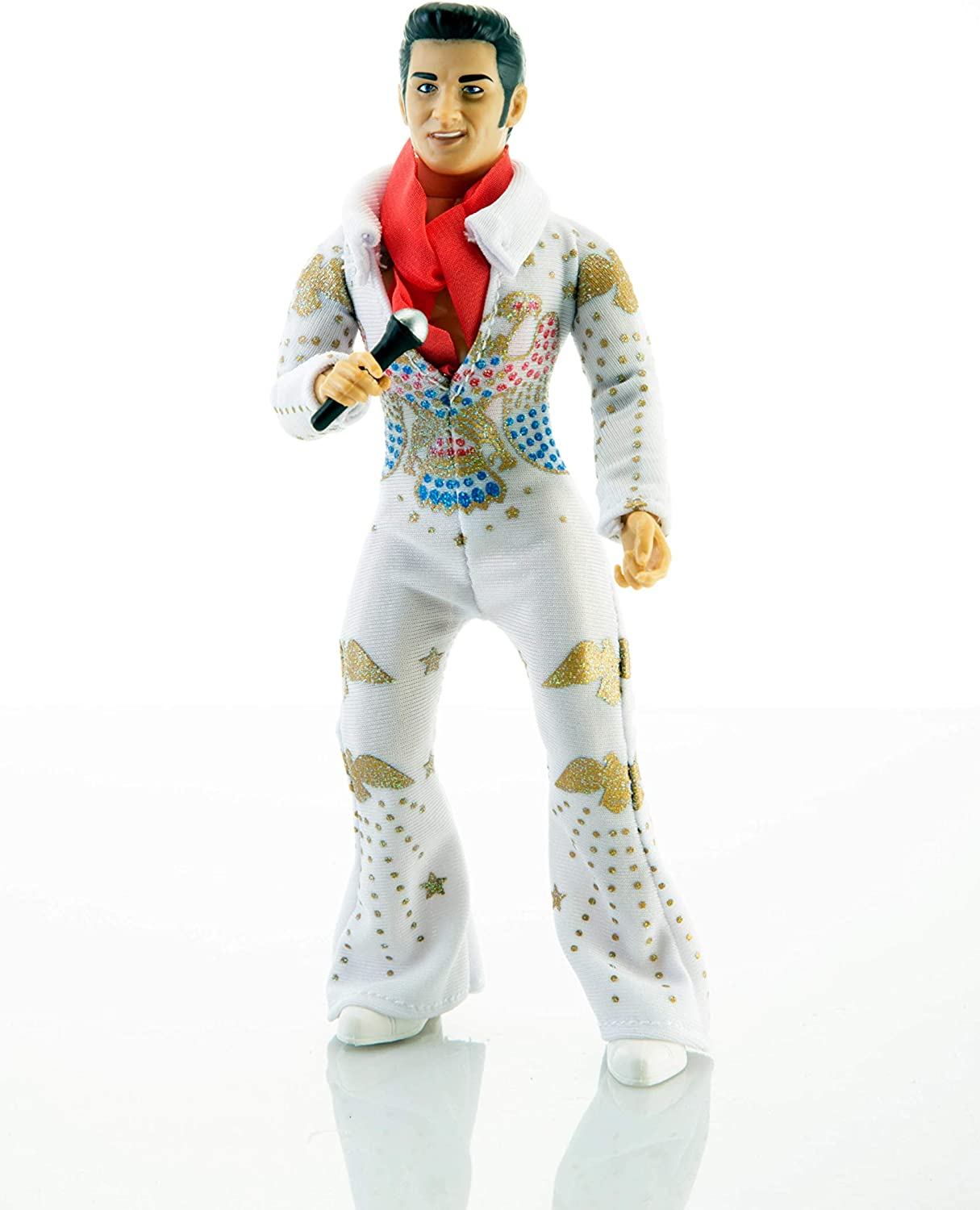 """ELVIS PRESLEY MEGO 8/"""" Figure Officially licensed Music Series NEW IN STOCK!"""