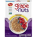 Post Grape-Nuts Cereal, Original Grape-Nuts Breakfast Cereal, Low Fat, High Fiber, Kosher 20.5 Ounce Box