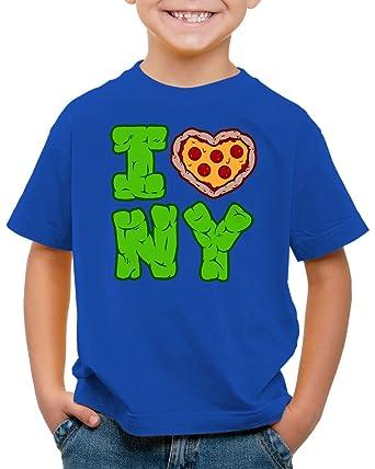 CottonCloud Love NY Camiseta para Niños T-Shirt Turtle ...