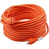 Epicord 16/3 Outdoor Extension Cord 3 Conductor Heavy Duty for Indoor and Outdoor (100 Feet)