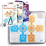 Pack Dance revolution hotest party 2 - 3 - 4 + tapis de danse DUO - Wii