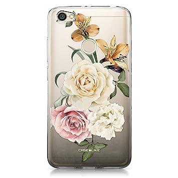 CASEiLIKE® Funda Redmi Note 5A, Carcasa Xiaomi Redmi Note 5A, Rosas mezcladas 2282, TPU Gel Silicone Protectora Cover