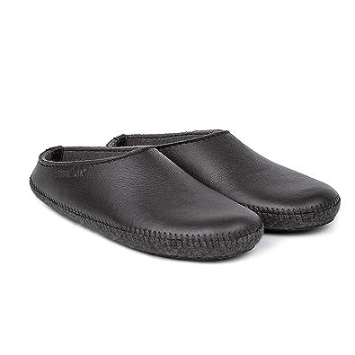 0c33e4ddd847a1 Haflinger Elchleder-Pantoffeln  Amazon.de  Schuhe   Handtaschen