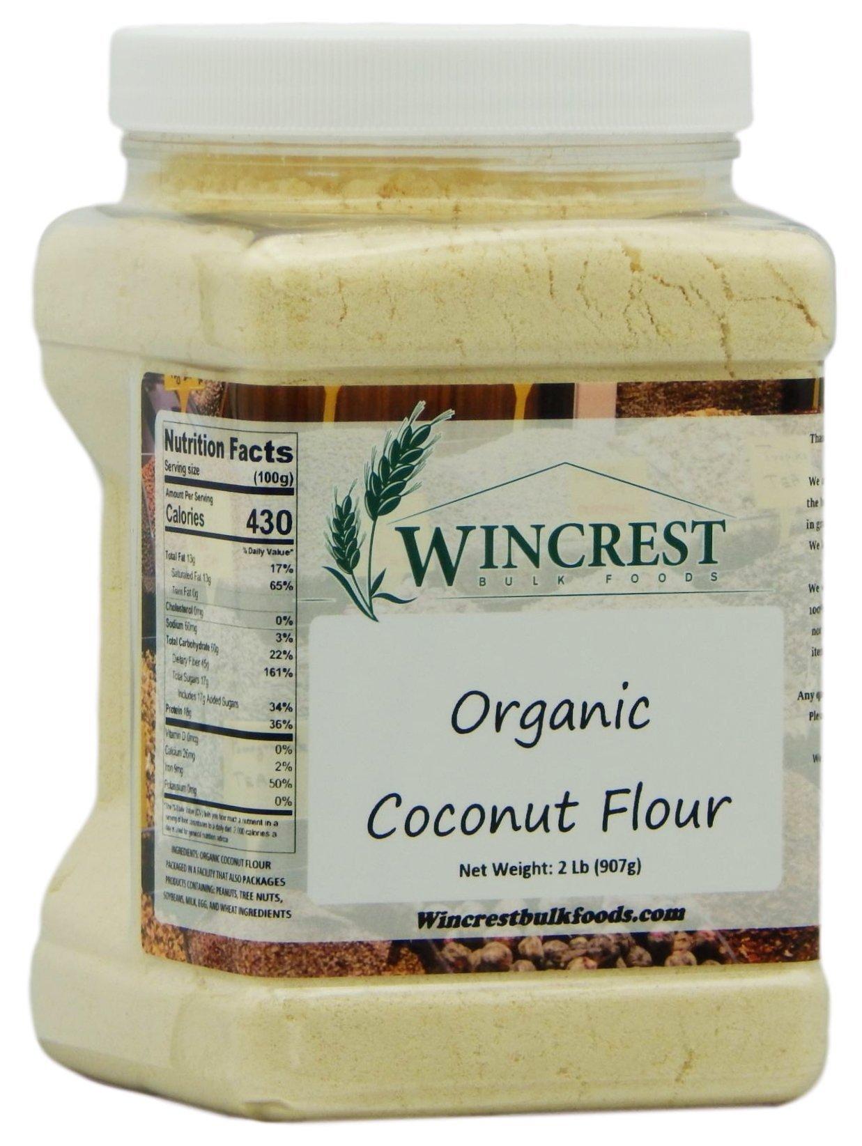 Organic Coconut Flour - 2 Lb Tub
