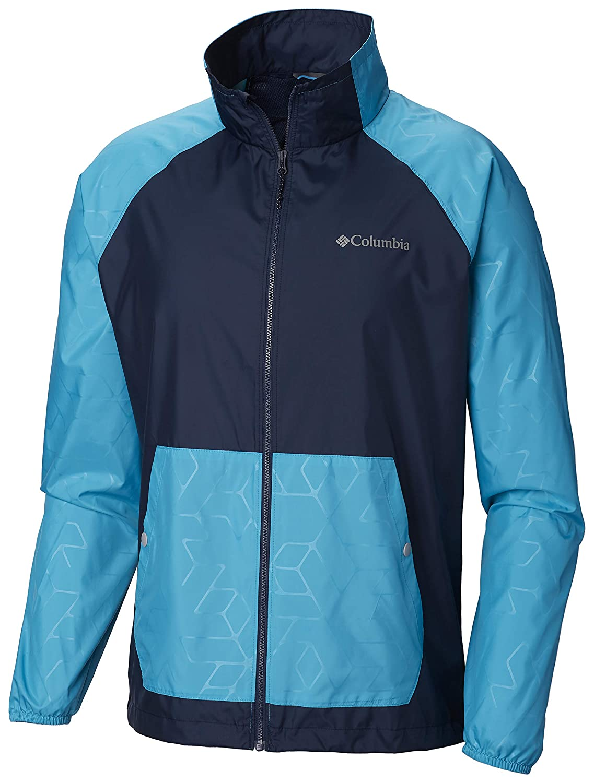 Collegiate Navy, Modern Turquoise Emboss XXL Columbia Homme 1771371 Veste
