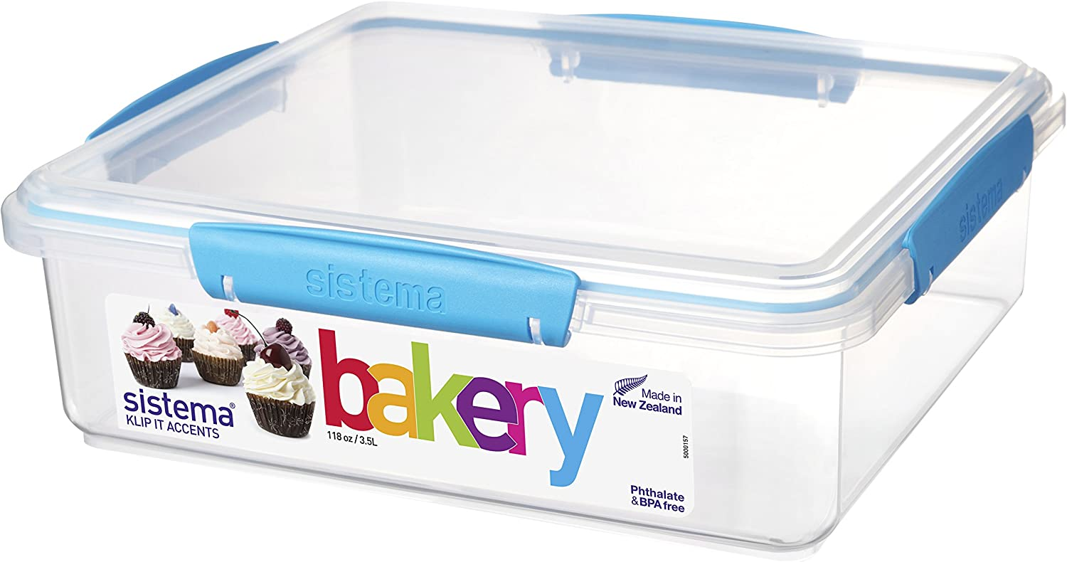 Sistema KLIP IT Accents Bakery Storage Container, 3.5 L - Assorted Colours