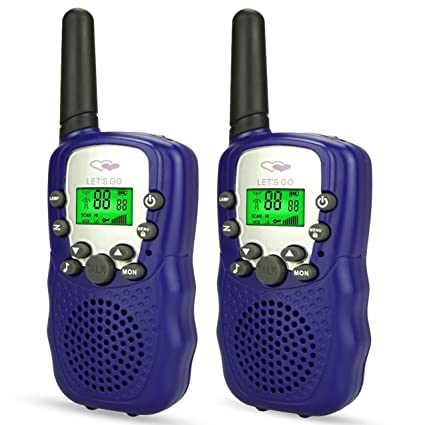 Amazon Com Ouwen Walkie Talkies For Kids Long Range Walkie Talkies