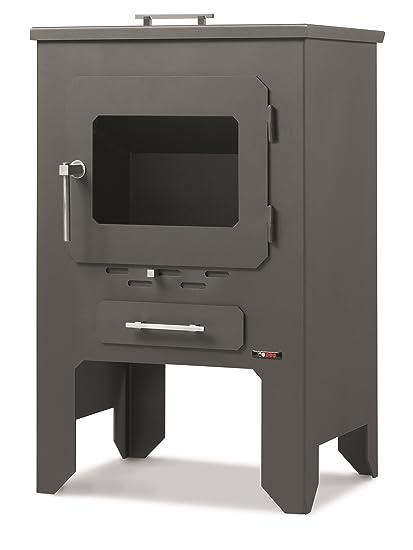 Estufa a leña Red pod Mod. Caia 8,5 kW: Amazon.es: Bricolaje y herramientas