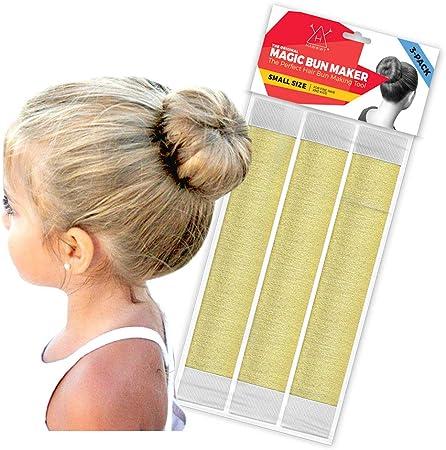 Hawwwy 3 Pieces Pour Chignon Outil De Cheveux Facile A Clipser Et A Rouler Parfait Pour