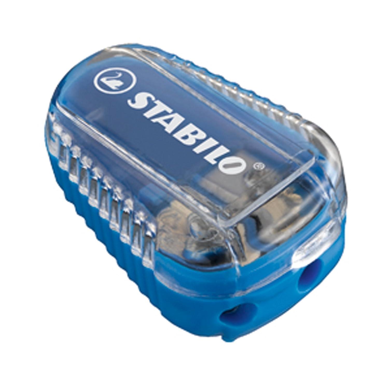 STABILO EASYergo 3.15 Bleistift mechanisch –  Bleistifte Mechaniken (blau, schwarz, 3,15 mm) 4573/2