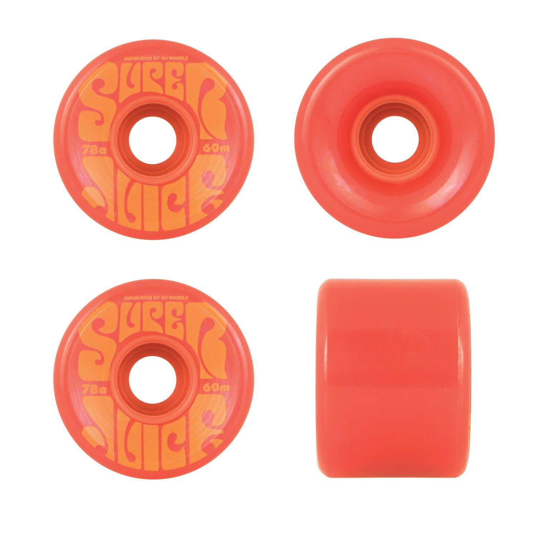 Ruedas de skateboard OJ Super Juice 78a, rojo, 53 mm