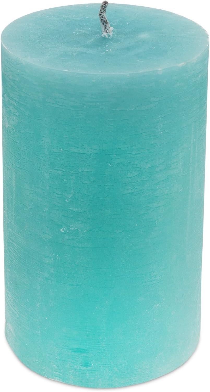 Branded by Vela Exterior Vela Ice Mint Turquesa Di/ámetro 12/Cm//20/cm Mediante Cabello RBT Jard/ín