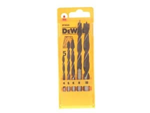 Dewalt DT4535-QZ Brad point wood drill bit Set (5 Piece)