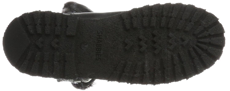 Shabbies (schwarz) Amsterdam Damen Schlupfstiefel Schwarz (schwarz) Shabbies 0251dd