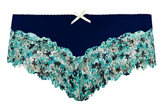 2 pairs of Marks /& Spencer floral print Brazilian knickers size 12