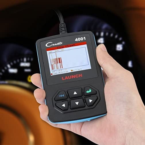 Creader 4001 offers most of the basic functions and a DTC lookup library so that you can read the explanation of any code shown on your OBD2 code reader.