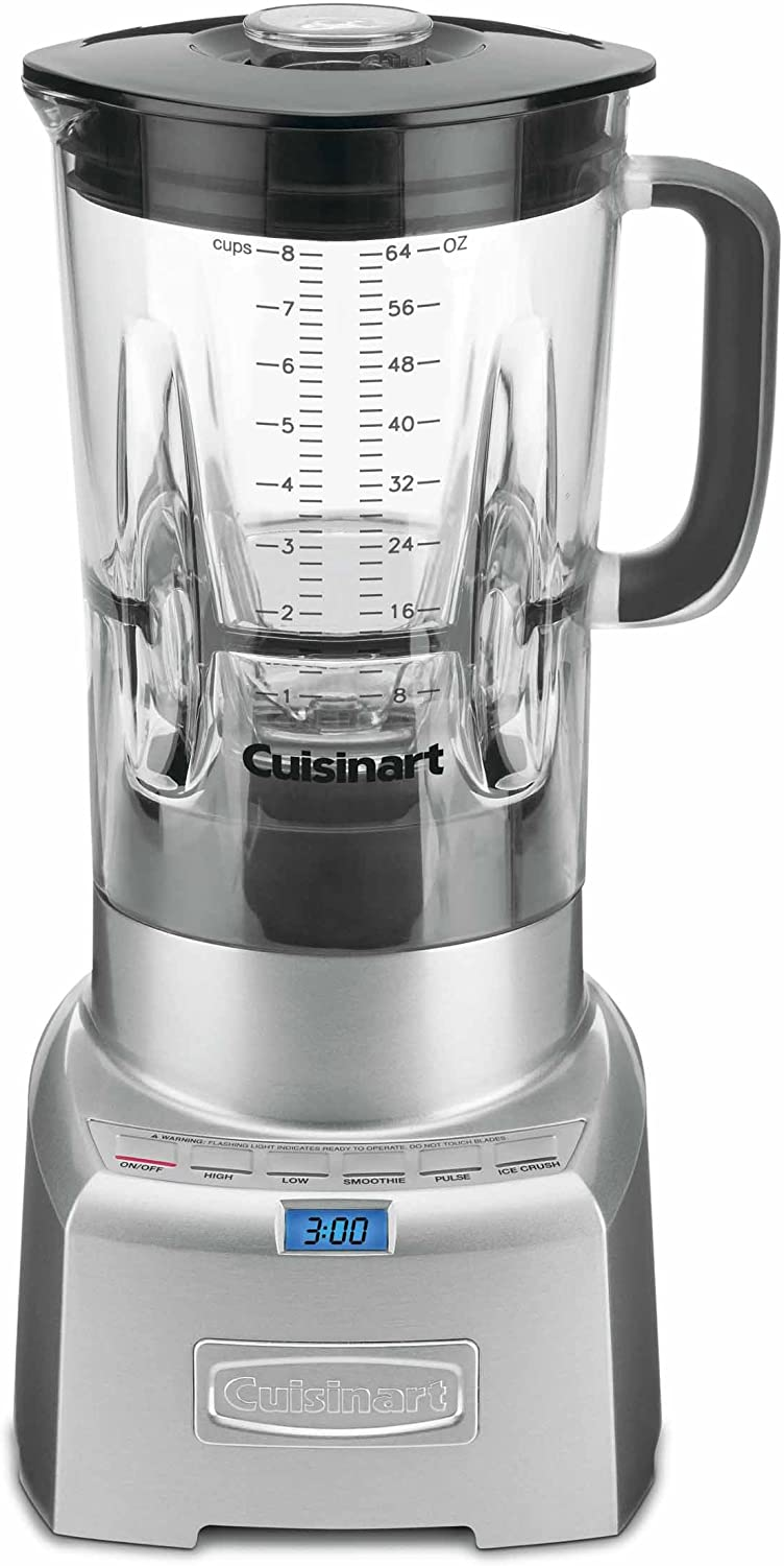 Cuisinart CBT-1000 PowerEdge 1.3 Horsepower Blender with BPA Free Jar, 64-Ounce, Brushed Stainless