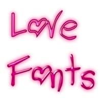 Love fonts