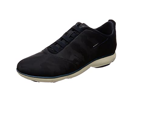 Geox U Nebula F, Sneaker Infilare Uomo, Nero (Black C9999
