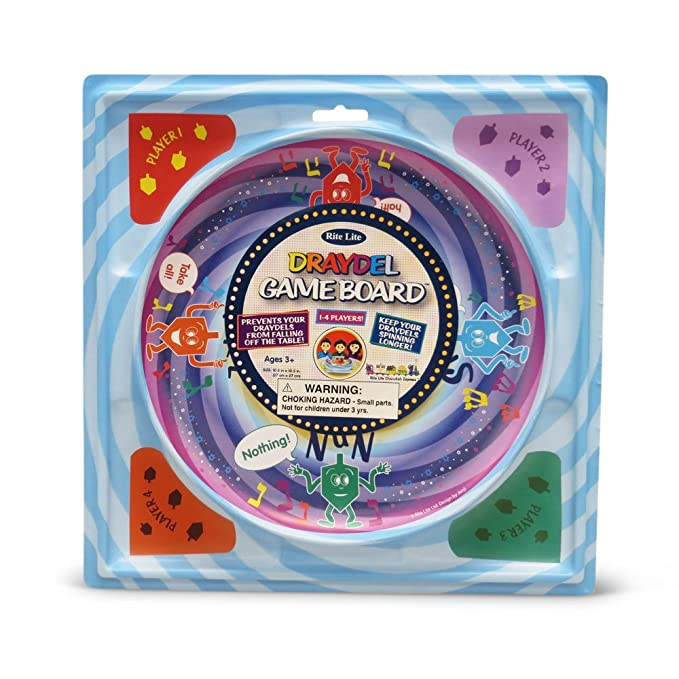 Hanukkah Draydel Game Board